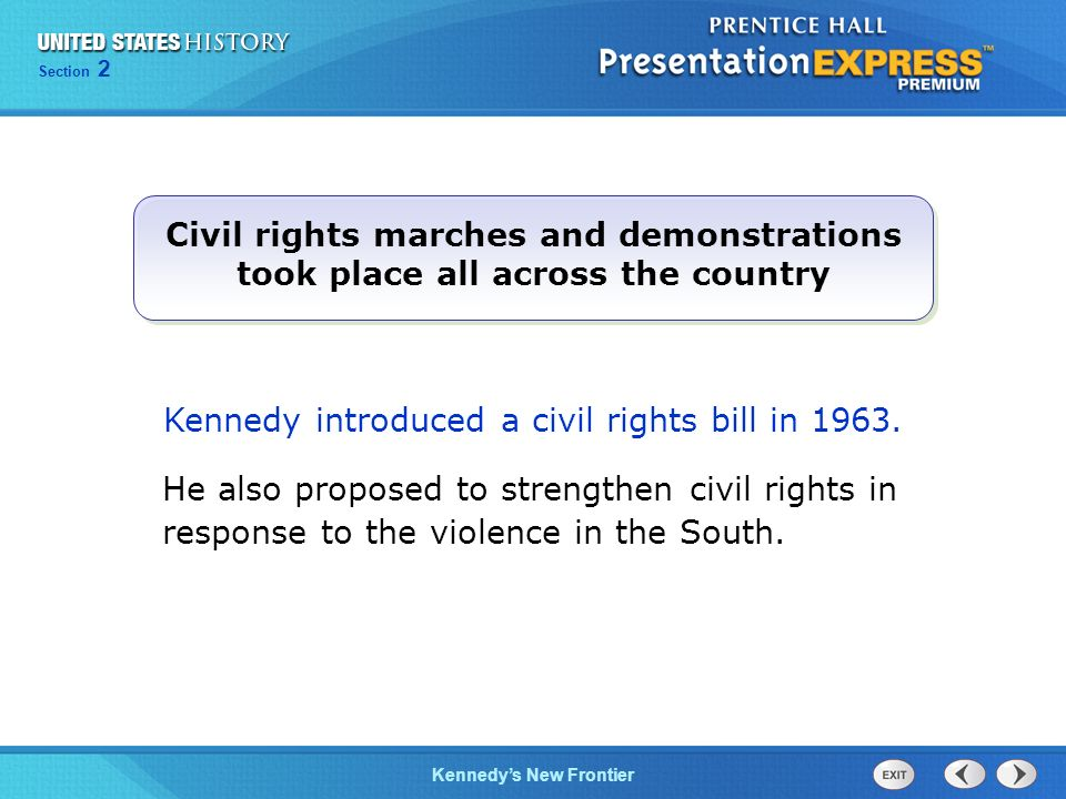 Civil rights marches and demonstrations took place all across the country