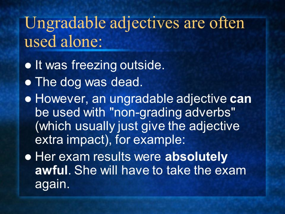 gradable and ungradable adjectives pdf