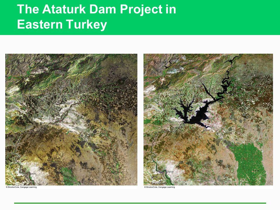 The Ataturk Dam Project in Eastern Turkey