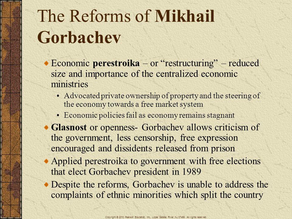 The Reforms of Mikhail Gorbachev