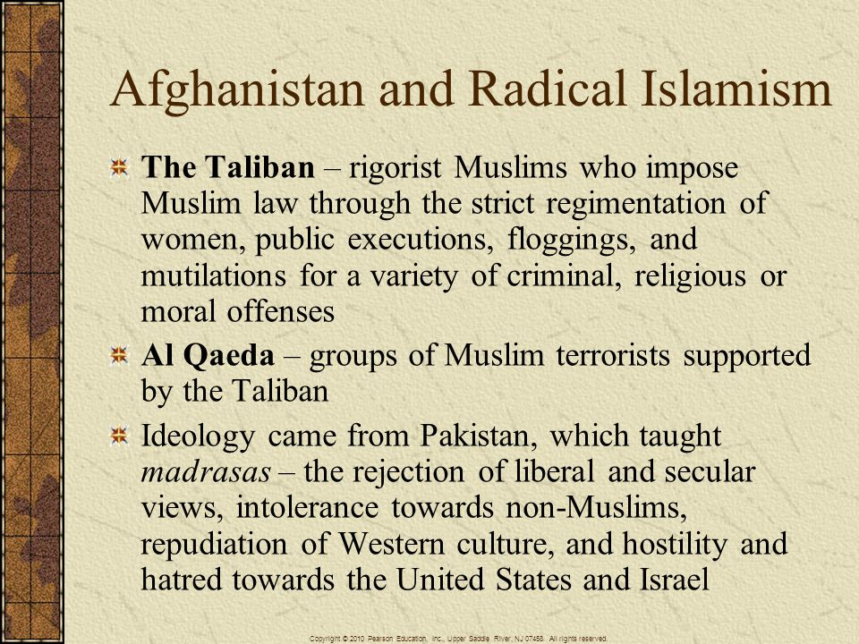 Afghanistan and Radical Islamism