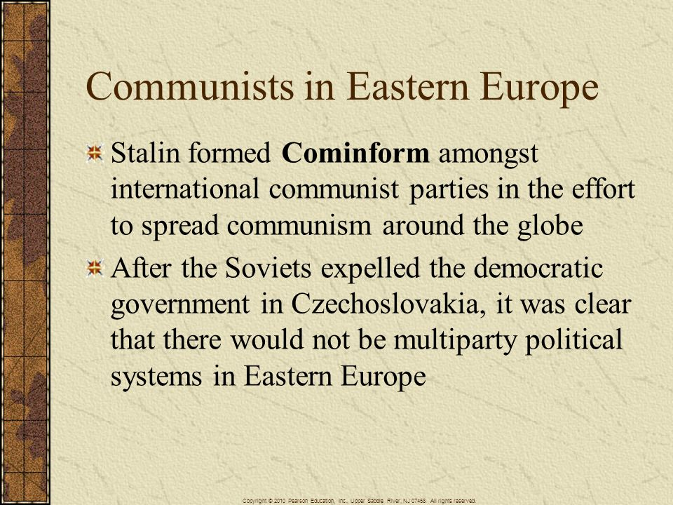 Communists in Eastern Europe