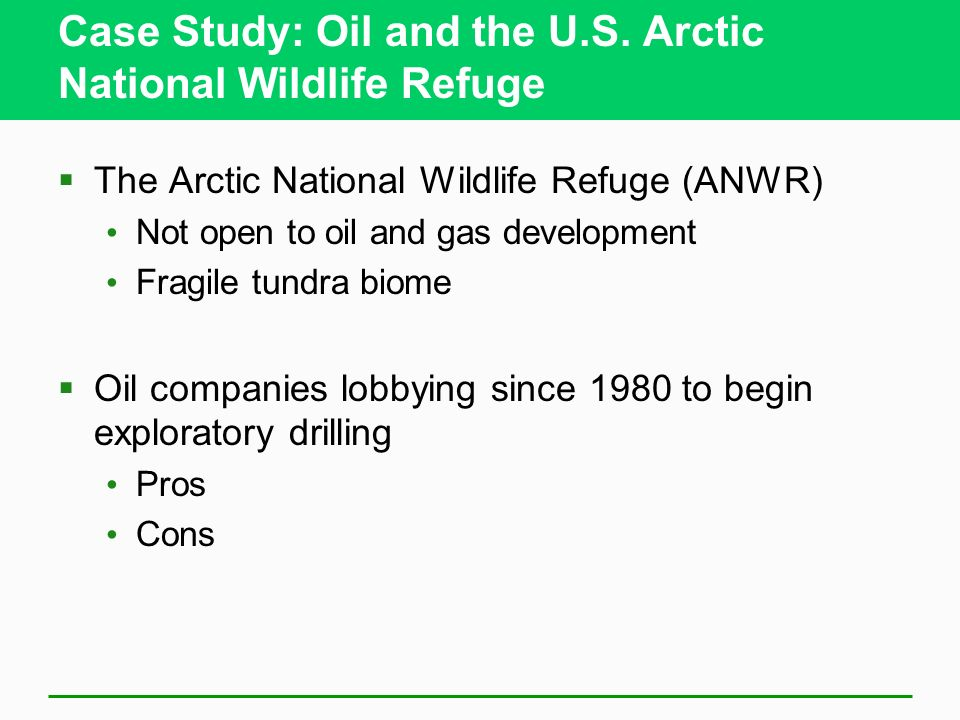 pros and cons for drilling in the arctic national wildlife refuge Us news is a recognized leader in college, grad school, hospital, mutual fund, and car rankings track elected officials, research health conditions, and find news you can use in politics, business, health, and education.