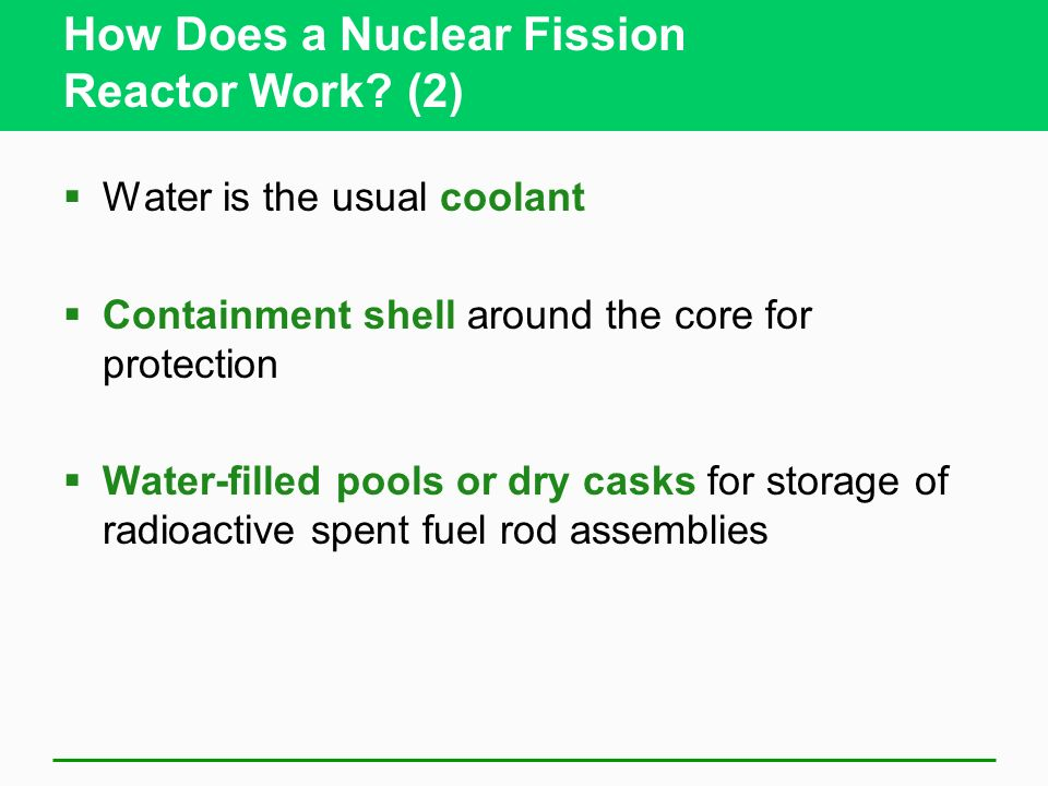 How Does a Nuclear Fission Reactor Work (2)