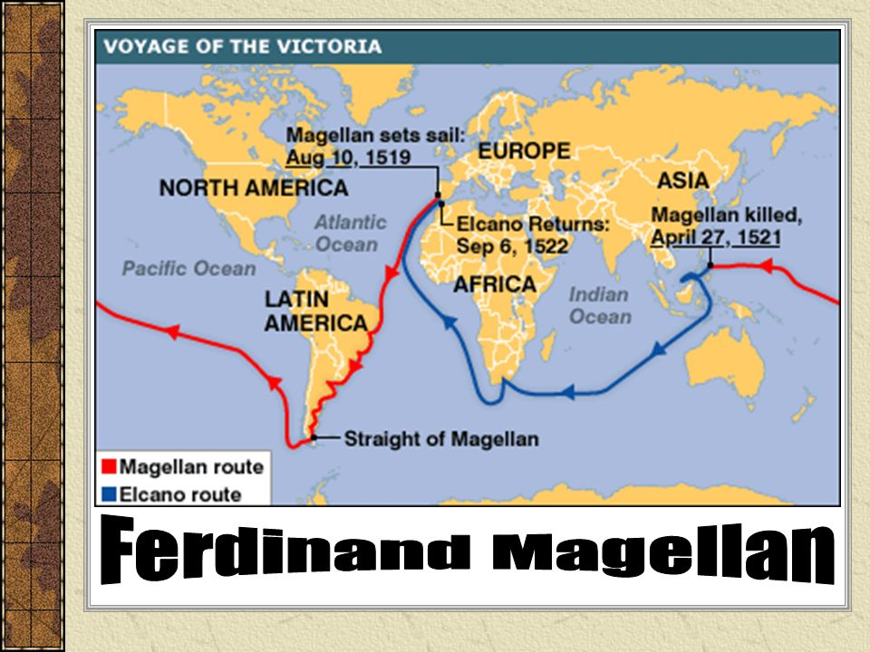 the voyage of ferdinand magellan In 1517, magellan moved to seville, spain, where he met a well-connected portuguese transplant, diogo barbosa, married his daughter, beatriz, and.