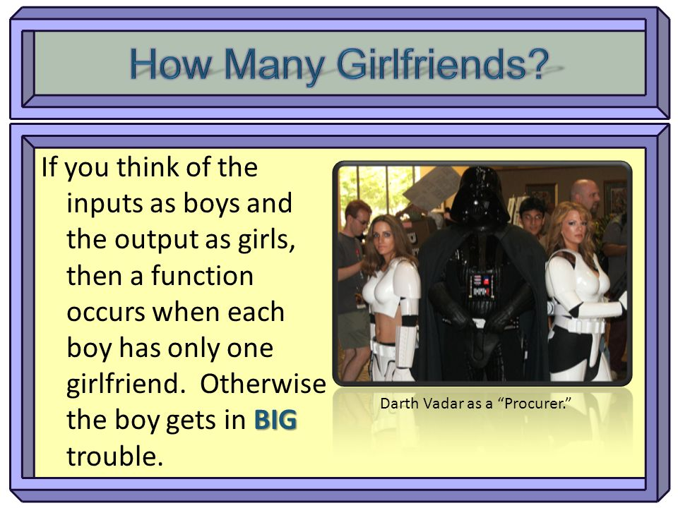 How Many Girlfriends