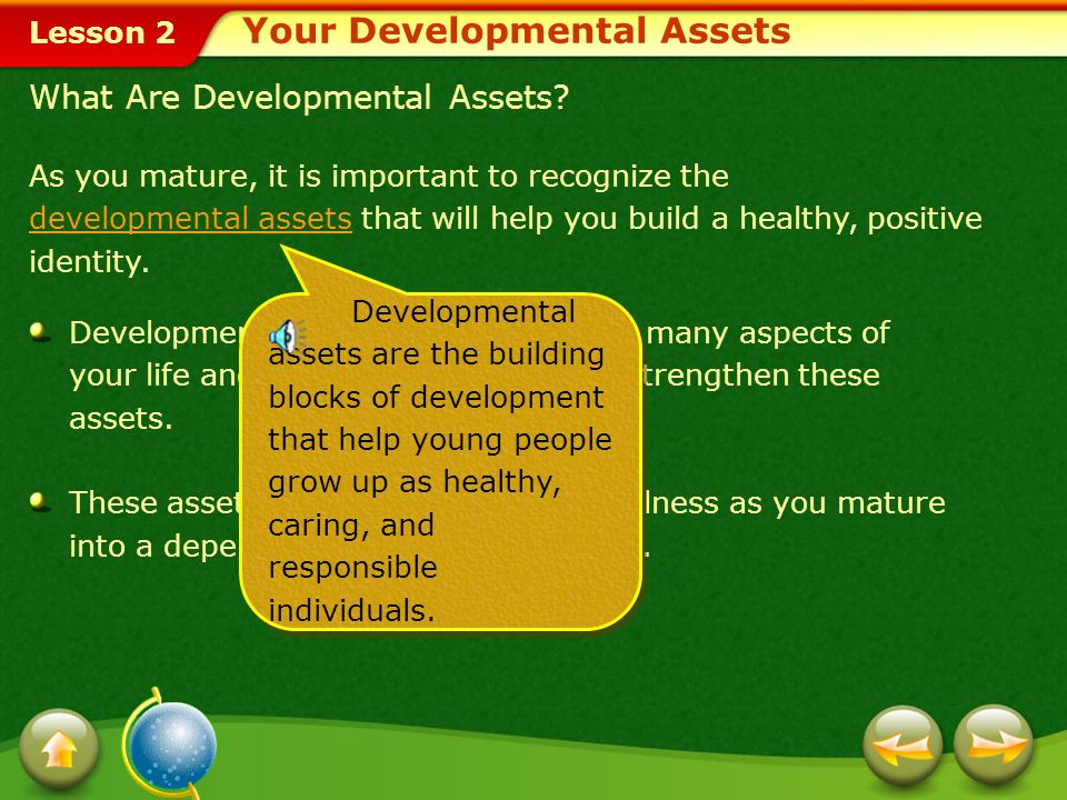Your Developmental Assets