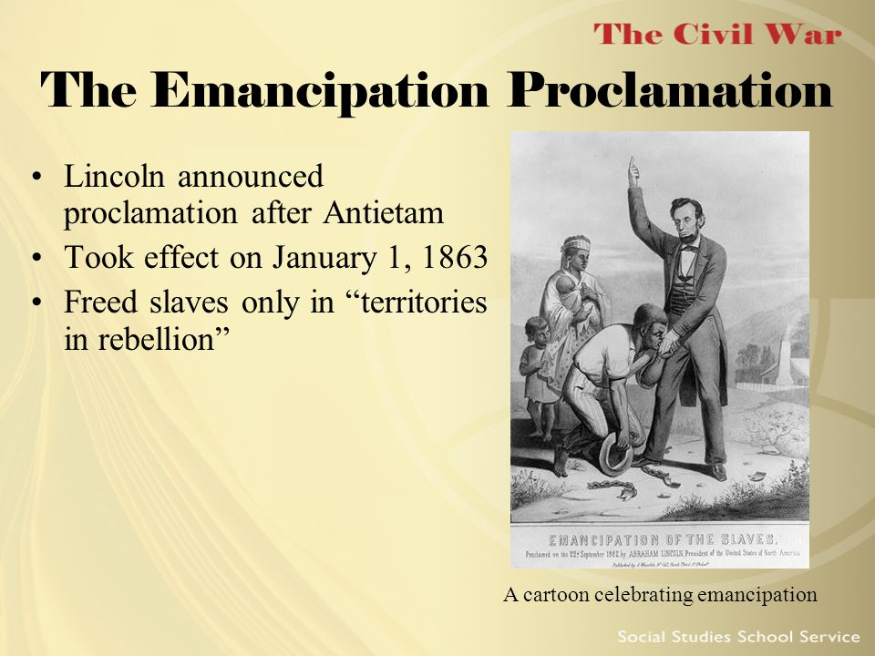 the emancipation edict of 1861