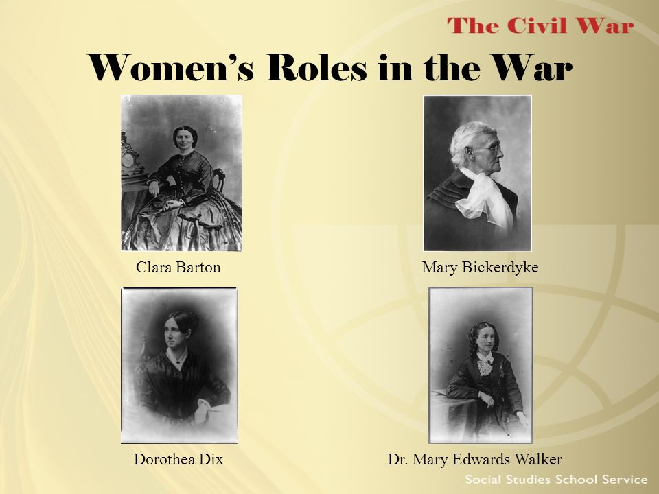 Women's Roles in the War