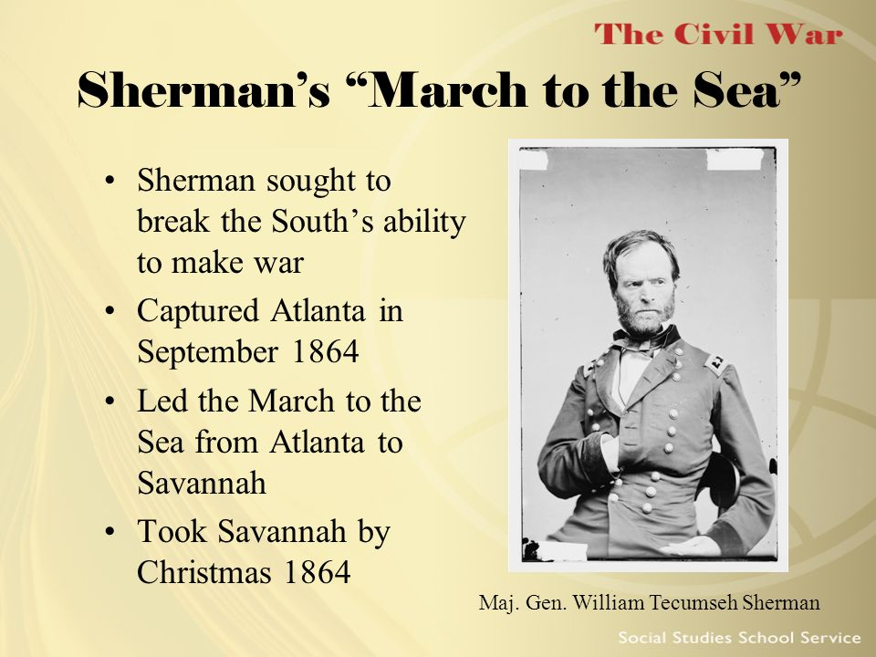 Sherman's March to the Sea
