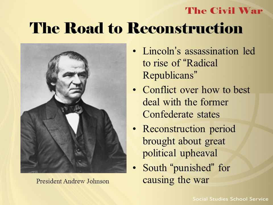 The Road to Reconstruction