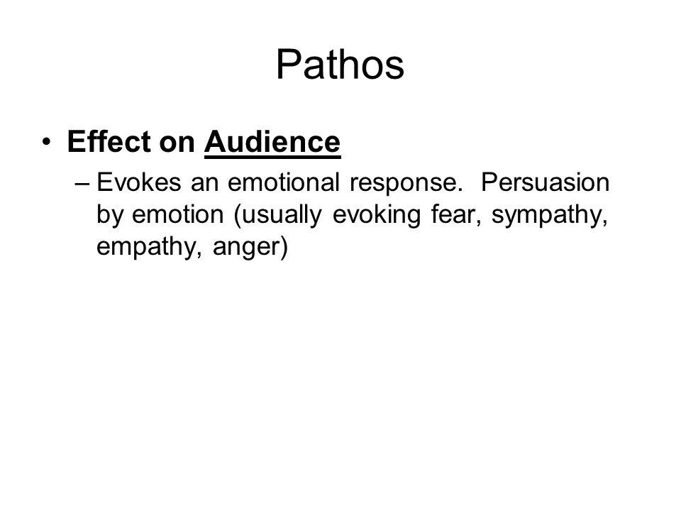 Pathos Effect on Audience