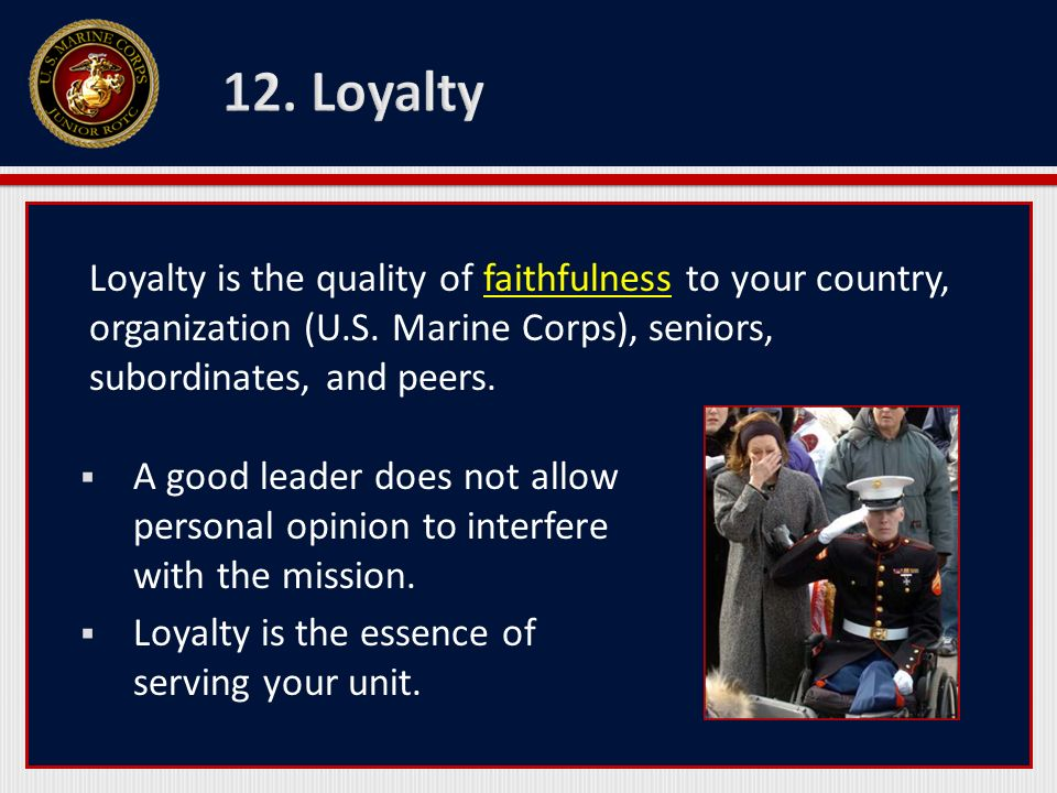 Military Leadership Traits - ppt video online download
