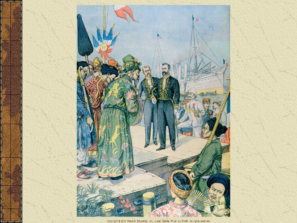 Arrival in Saigon of Paul Beau (1857–1927), governor general of Indo-China 1902–1907, from Le Petit Journal, November 1902.