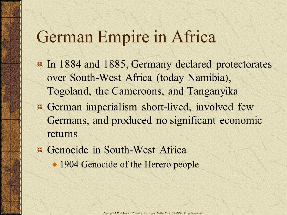 German Empire in Africa