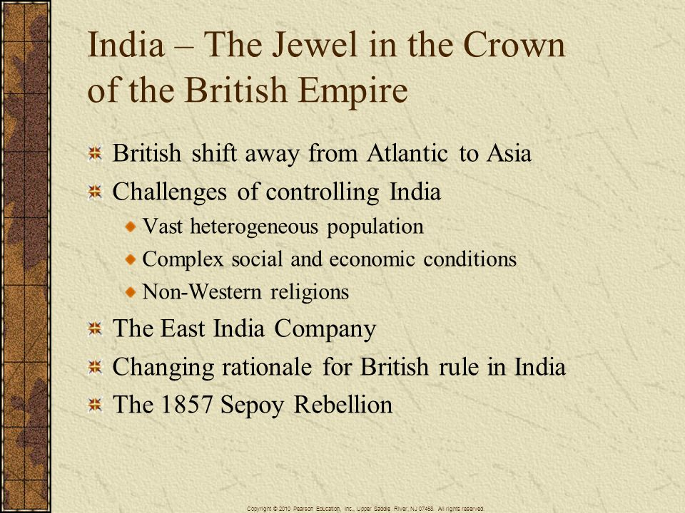 India – The Jewel in the Crown of the British Empire
