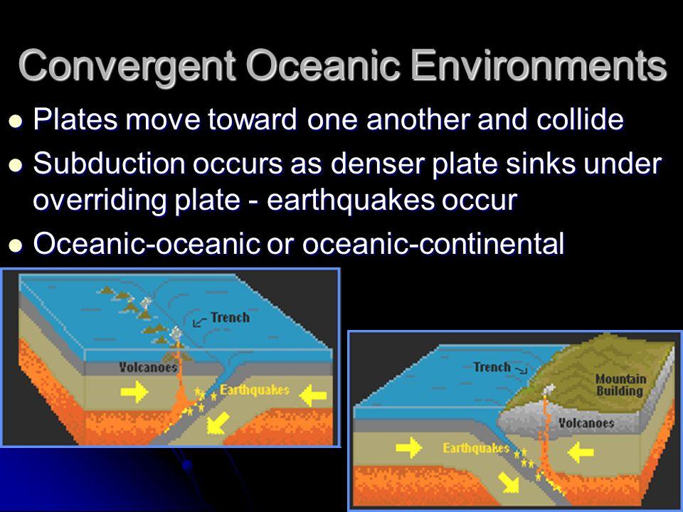 Convergent Oceanic Environments