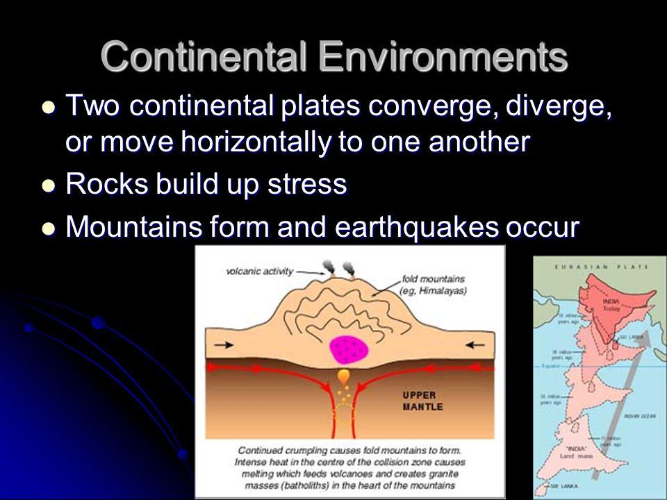 Continental Environments