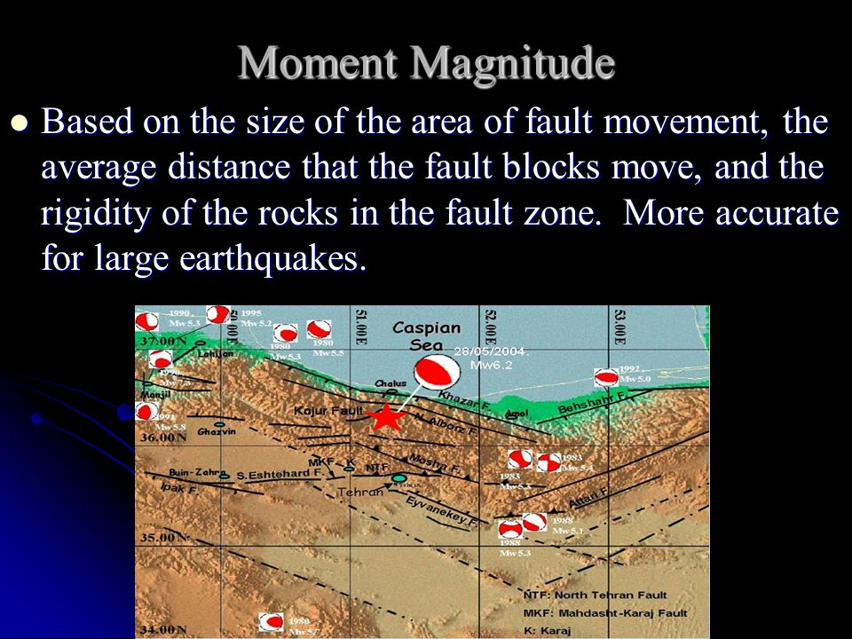 Moment Magnitude