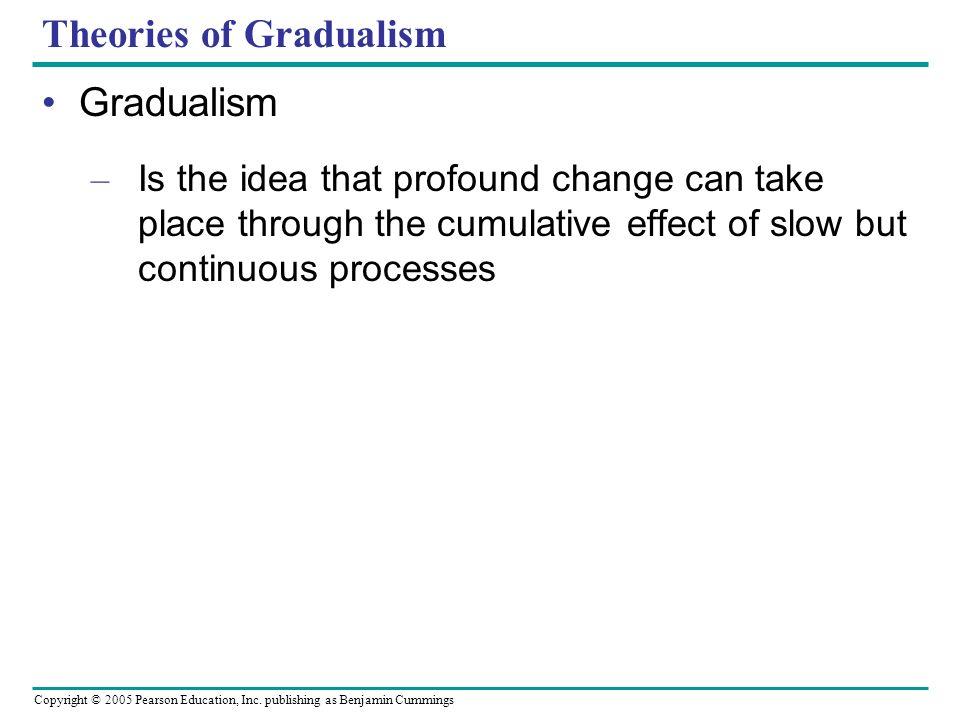 Theories of Gradualism
