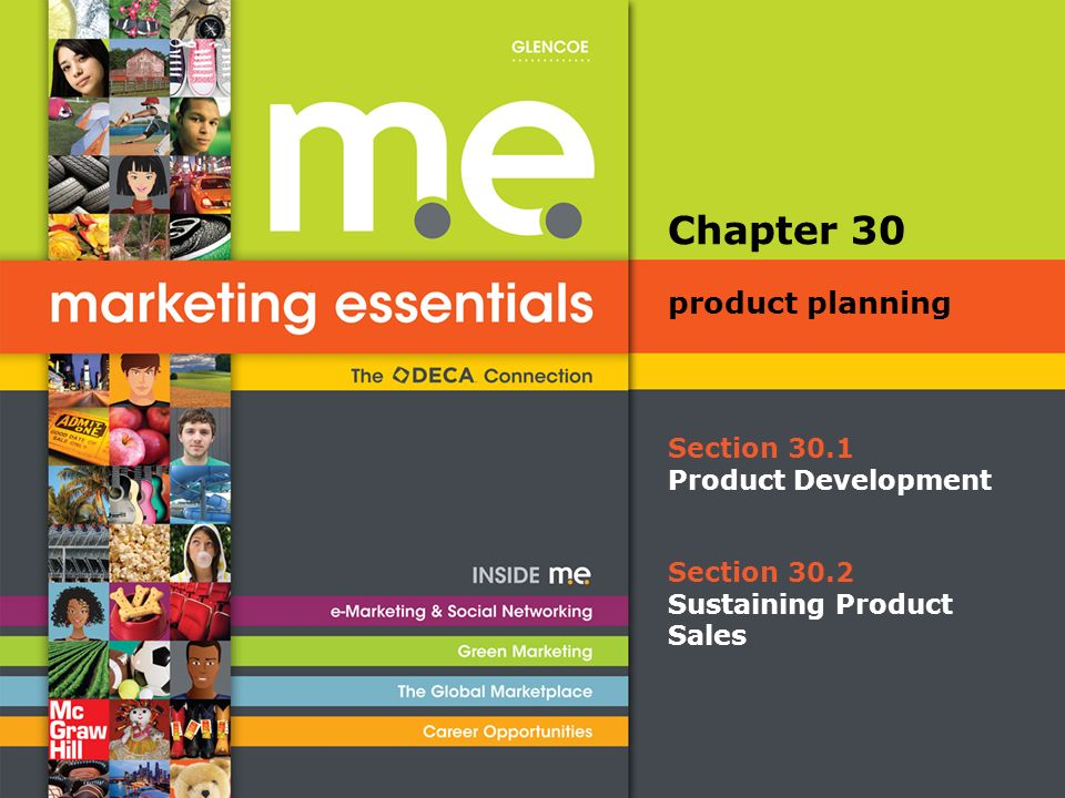 Chapter 30 Product Planning Section 301 Development