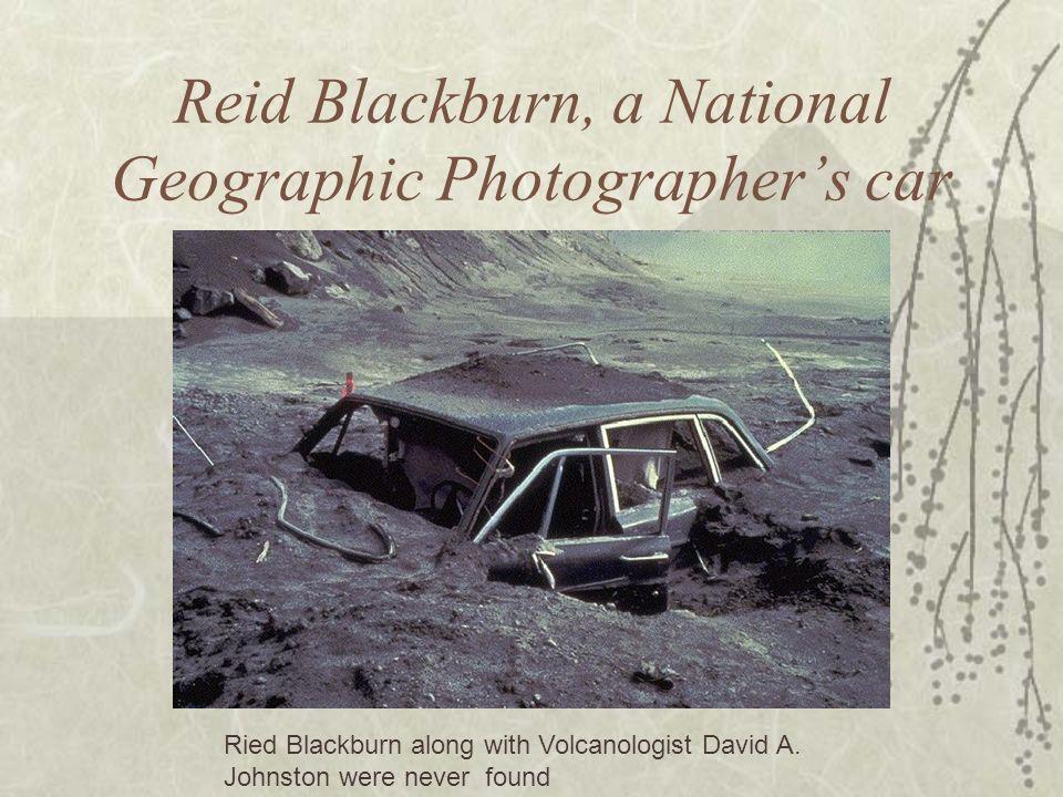 Reid Blackburn, a National Geographic Photographer's car
