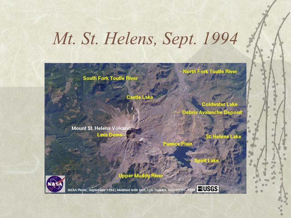 Mt. St. Helens, Sept. 1994