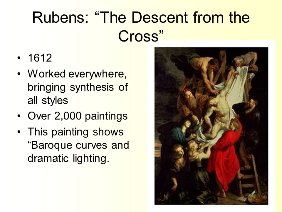Rubens: The Descent from the Cross