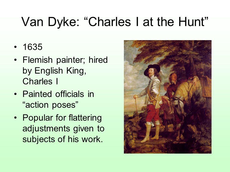 Van Dyke: Charles I at the Hunt