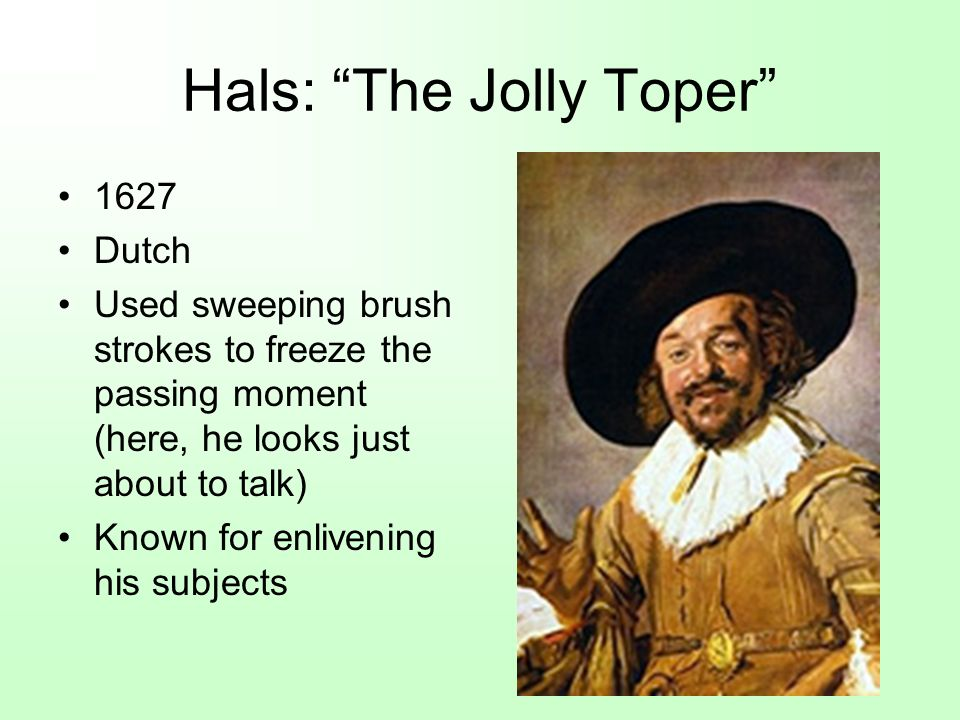 Hals: The Jolly Toper