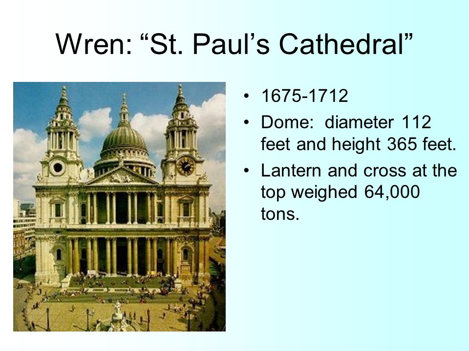 Wren: St. Paul's Cathedral