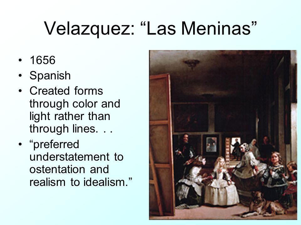Velazquez: Las Meninas