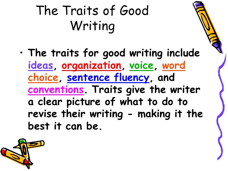 traits of good writing Online document catalogs using the traits of good writing using the traits of good writing - in this site is not the similar as a solution manual you purchase in a photo.