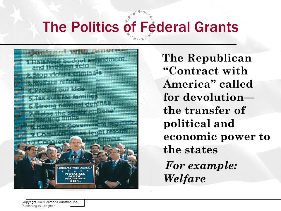The Politics of Federal Grants