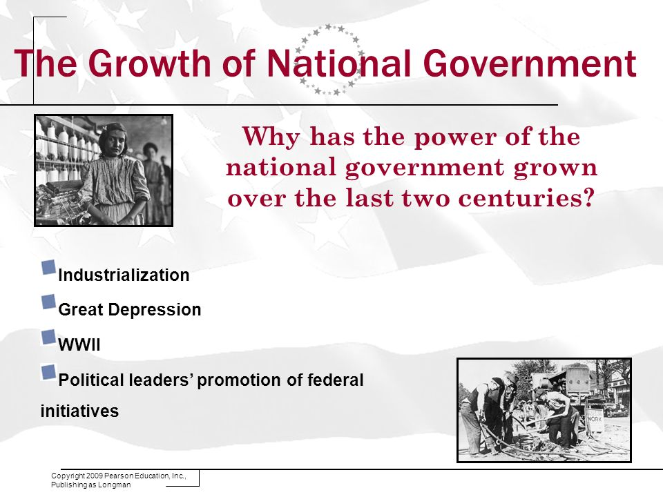 The Growth of National Government