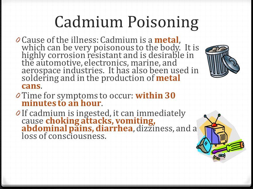 Cadmium Poisoning