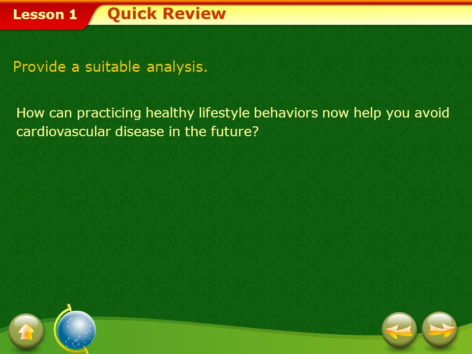 Quick Review Provide a suitable analysis.
