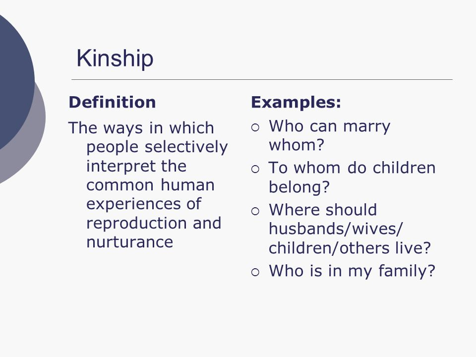 descent approach towards the understanding of kinship system In doing so, we hope to (1) illustrate that new approaches to thestudy of   powerful explanatory framework through which to examine kinship systems  as  such, it provides a synthetic framework for understanding kinship and.