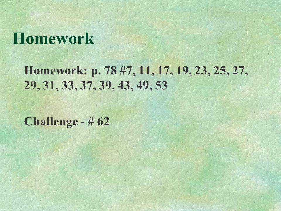 Homework Homework: p.