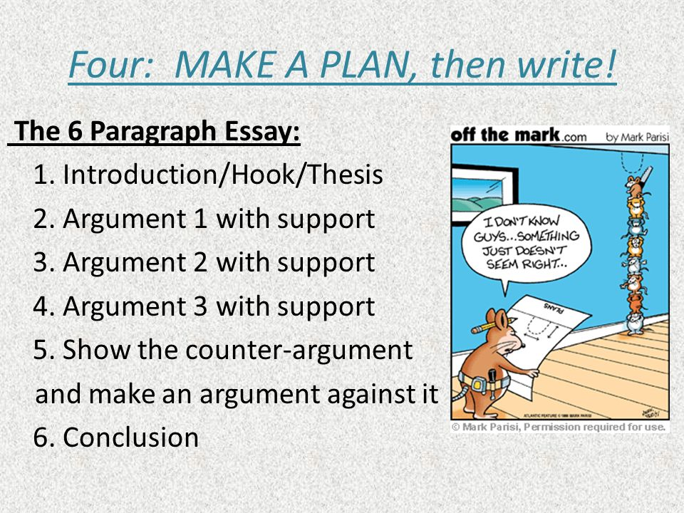 how to write a paragraph powerpoint