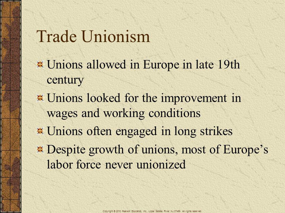 labor unions in the late 19th However, when anti-union employers took over the association in late 1902 in a three-way race for the presidency, it quickly turned into the largest and most visible opponent of trade unions in the united states.