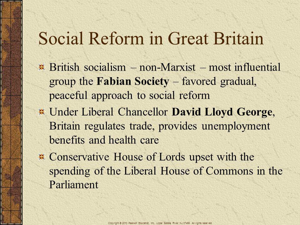 Social Reform in Great Britain