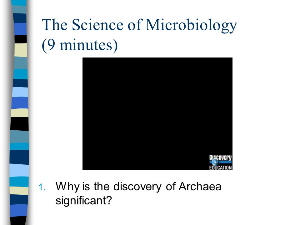 The Science of Microbiology (9 minutes)