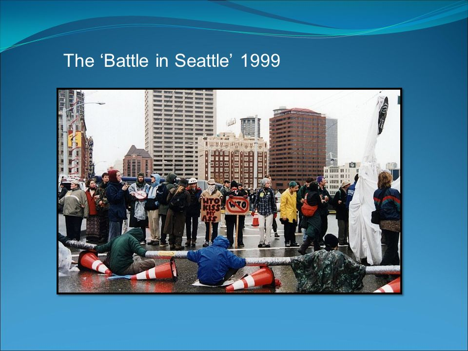 a reflection of the 1999 battle in seattle The directorial debut of actor stuart townsend is a conventional drama about the unconventional and landmark 1999 wto protests  battle in seattle is a compassionate history lesson, even for.