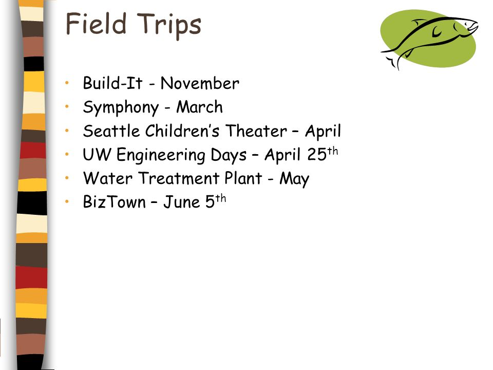 Field Trips Build-It - November Symphony - March