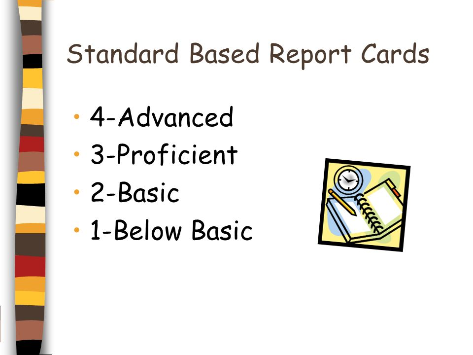 Standard Based Report Cards