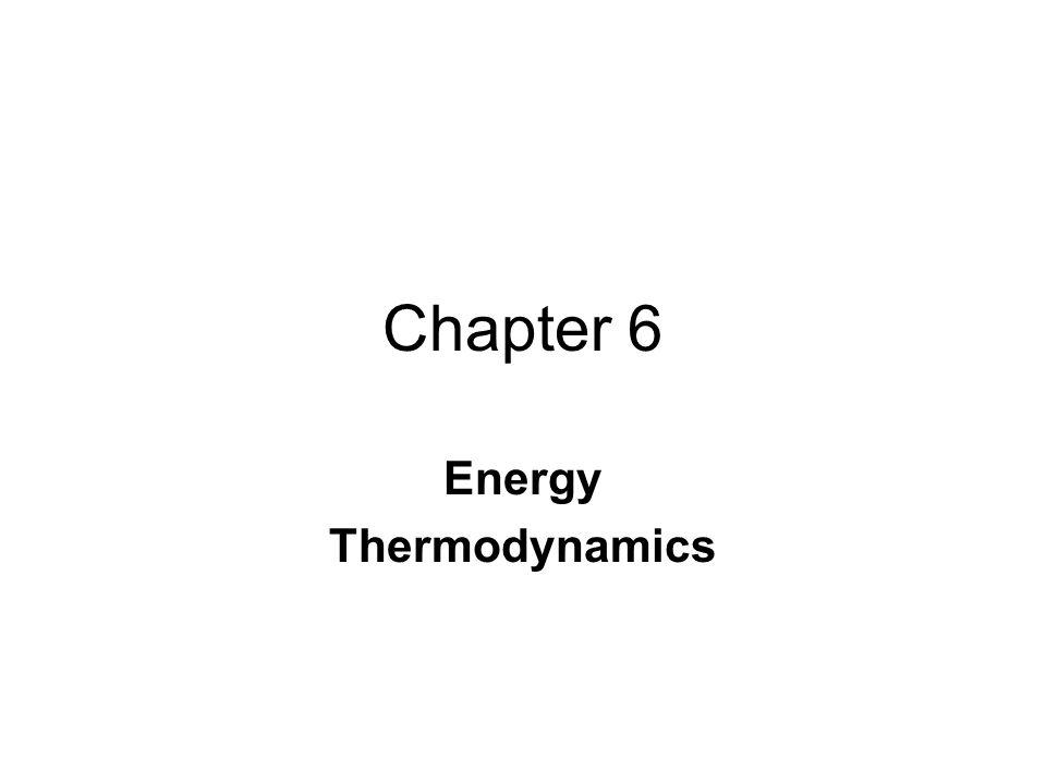 Energy Thermodynamics