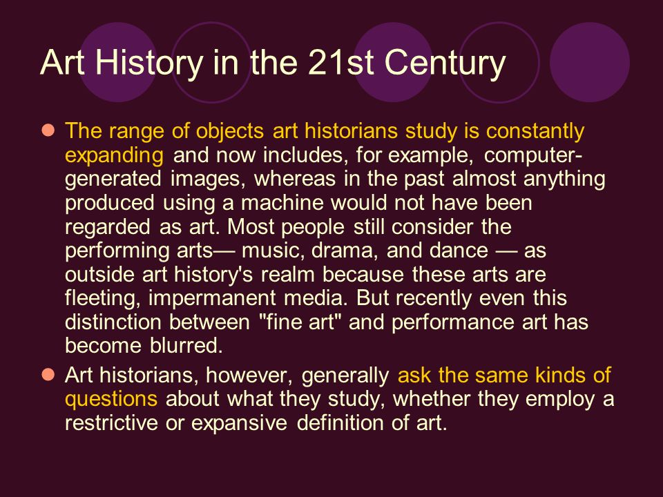 Art History in the 21st Century