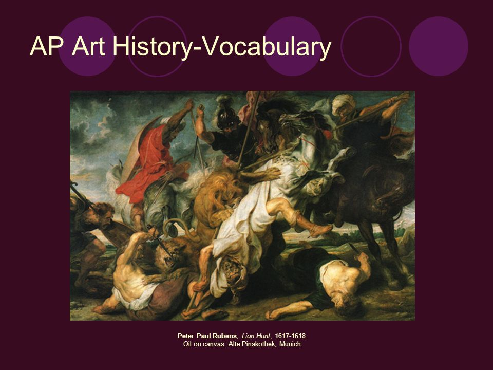 AP Art History-Vocabulary