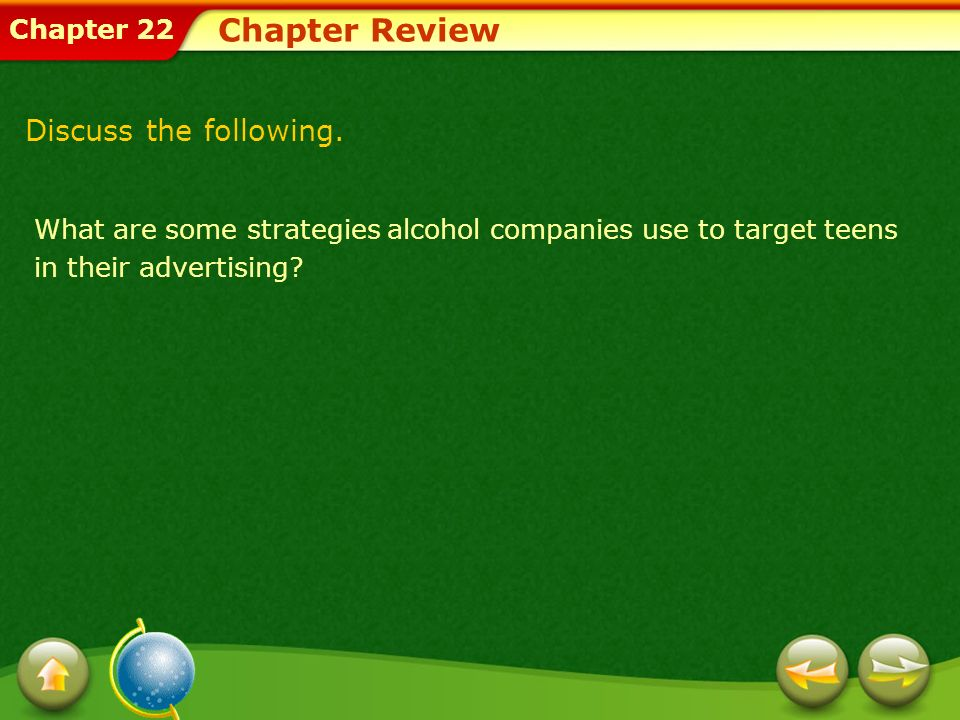 Chapter Review Discuss the following.